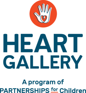 Partnerships for Children Heart Gallery logo