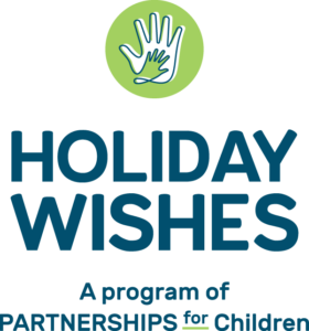 Partnerships for Children Holiday Wishes logo