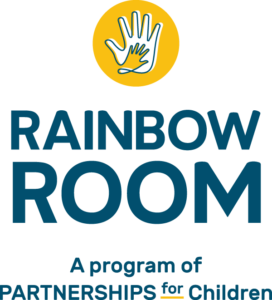 Partnerships for Children Rainbow Room logo