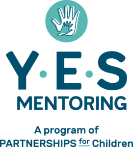 Partnerships for Children YES Mentoring logo