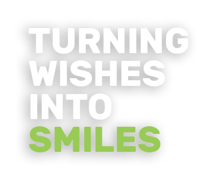 Turning Wishes Into Smile Graphic